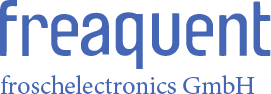 freaquent froschelectronics GmbH - Logo